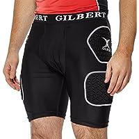 GILBERT Shorts de Rugby con Protección Adulto, S