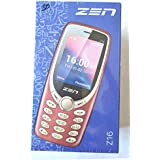Zen Mobile Z16 2.4 DISPLAY+1.3 MP CAMERA WITH FLASH+1800 MAh BATTERY+WIRELESS FM WITH RECORDING+DUAL SIM+4 LED TORCH+MP3 +MP4 +BT +3.5 MM JACK