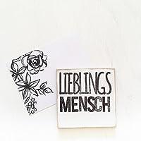 """Magnet """"lieblingsMENSCH"""" 7,5×7,5cm"""