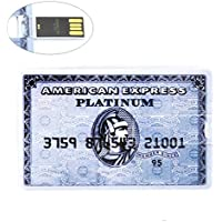 IMCA - Chiavetta USB 2.0 a forma di carta di credito con scritta