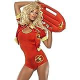 Smiffy's - Disfraz de vigilante de la playa para mujer, talla UK 8 - 10 (5020570079386)