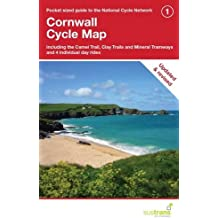 Cornwall Cycle Map: Including the Camel Trail, Clay Trails and Mineral Tramways, Plus 4 Individual Day Rides (CycleCity Guides)