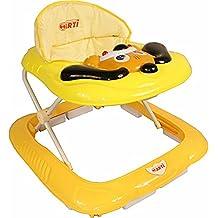 Andador para bebés regulable en altura con juguetes y sonido ARTI Perro 02 naranja