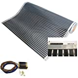 Calorique – Láminas de Calefacción por Suelo Radiante 100cm 90W/m² establece de 1m² Solución en Calefacción Efectiva y Ahorra