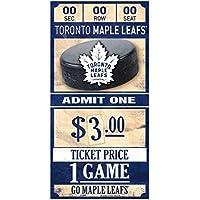 WinCraft Toronto Maple Leafs NHL Ticket Schild