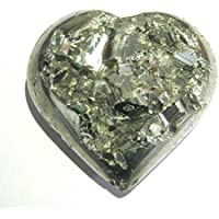 Exklusive 188Gramm Golden Pyrit Herz Form Rock Crystal Healing metaphysisch Edelstein Reiki Feng Shui Geschenk... preisvergleich bei billige-tabletten.eu