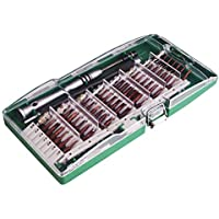 60 en 1Kit del Destornillador, Kuman Electronico Preciso Reparación Herramientas de Precisión Torx Manejador de Dispositivo para Celular, iPad, Tablet, PC, Cámara, Juguete electrónico P5100