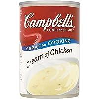 Crema de Campbell De 295g de pollo sopa condensada
