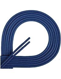 Di Ficchiano Premuim-Schnürsenkel Gewachst, Rundsenkel für Business, Anzug- und Lederschuhe, ø 2-4 mm, Längen 45-200 cm, reißfest