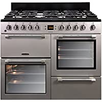 LEISURE CK100F232S Cookmaster 100cm Dual Fuel Range Cooker Silver