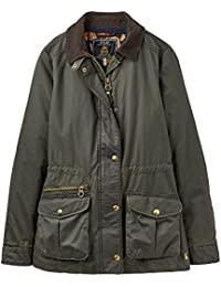 Joules Womens/Ladies Balmoral Faux Wax Lightweight Jacket Coat