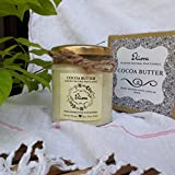 Cocoa Butter Scented Candle Made With Blended Natural Wax And Fine Fragrance Oils For A Healthy And Clean Burn/Vegan Candle