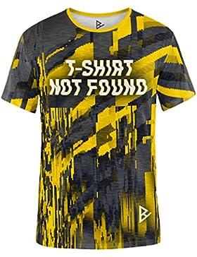 Blowhammer - Camiseta de Hombre - Not Found Yellow TEE