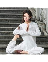 peiwen Deportes al Aire Libre Pura Ropa de Yoga de algodón Ropa de la  meditación f987fdfef4a5