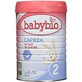 Babybio Caprea 2 au Lait de Chèvre Bio 6 / 12 Mois 900 g - Lot de 3