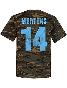 Retake Napoli Mertens camiseta de camuflaje