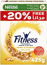 Nestle Fitness Nestle Honey & Almond Breakfast Cereal 425g – Promo