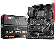MSI B450 TOMAHAWK MAX Motherboard (Socket AM4/B450/DDR4/S-ATA 600/ATX)