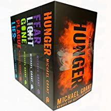 michael grant gone series 6 books collection set (fear, plague, lies, hunger, gone, light)