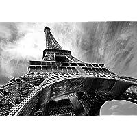 WTD–Papel pintado Mural welt-der-träume   de la torre Eiffel     foto papel pintado de 10215_ p-ms   ciudad urbana monumento monumentos Torre Eiffel Eiffe, P8 (368cm. x 254cm.)
