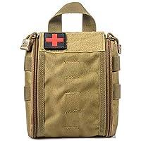 Yuan Ou Kit Primeros Auxilios Kit De Primeros Auxilios De Camping Bolsa De Primeros Vacía Médica Impermeable 14 * 18 * 6cm Amarillo