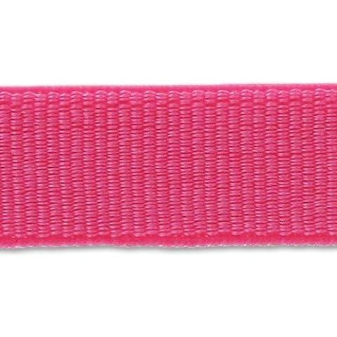 Cinta grano grueso elástica 9 mm Rosa x 1m