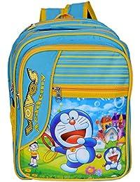 Apoorva Sky Blue Doraemon Sky Blue Latest 3D Printed Bag, School Bag For Girls And Boy ,Kids,School Bag,Sky Blue...