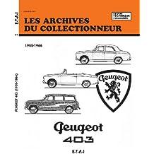 Les archives du collectionneur Revue Technique Automobile, N° 21: Peugeot 403