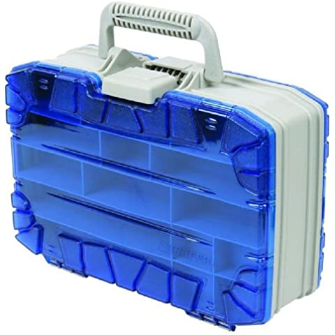 Flambeau Tackle doppia Satchel Tackle Box (blu, 13 - Inch)