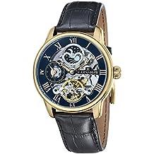 Thomas Earnshaw ES-8006-05 - Reloj para hombre con esfera analógica de color negro y correa de cuero negra