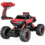 Goolsky P1404 RC Coche Escala 1:14 2CH 4WD Off-road Rock Crawler con Luces LED