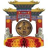 Centre de table monument chinois - Taille Unique