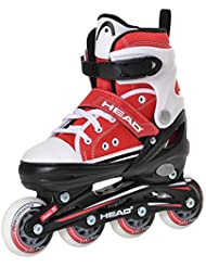 Head Kinder Inlineskates Cool Red, 4-fach verstellbar, ABEC 5 Kugellager