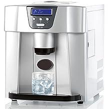 Rosenstein & Söhne Eiswürfelbereiter: Eiswürfelmaschine EWS-2100 mit Eiswürfelspender (Eiswürfelmaschine mit Spender)