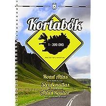 Island Road Atlas 1 : 300 000: mit Stadtplänen und Index