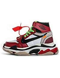 cheaper 24f99 c545a TOPSaleTEN Off White x Air Jordan 1 Balenciaga Triple S Virgil Abloh Custom  Damen Herren Schuhe Trainer Sport…