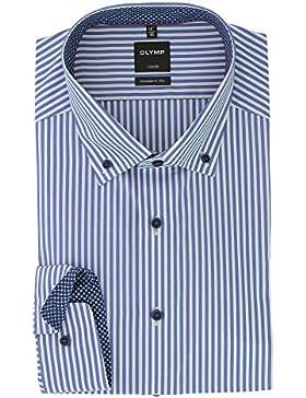 OLYMP - Camisa formal - Rayas - con botones - para hombre