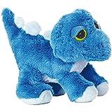 Aurora World 21252 - Dreamy Eyes Stegosaurus Dinosaurier 30.5 cm, blau