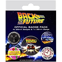 Pack de Chapas Back To The Future Delorean