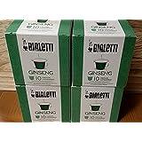 4Box de 10Cápsulas café Ginseng Bialetti COMPATIBLES X Nespresso no para cafeteras Bialetti, solo para cafeteras Nespresso