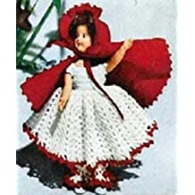 LITTLE RED RIDING HOOD DOLL Vintage 1951 Crochet Pattern - Fairy Tale, Toy...Kindle eBook Download (English Edition)
