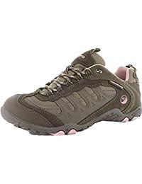Hi-Tec Lady Penrith resistente al agua Trail zapatos de senderismo botas Charc/morado, multicolor, 7
