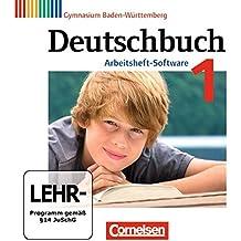 Deutschbuch 1: 5. Schuljahr Übungs-CD-ROM zum Arbeitsheft. Gymnasium Baden-Württemberg