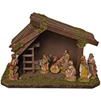 Alfred Kolbe Krippen 1346/0 Wooden Nativity Scene for 8-10 cm Figures 25 x 15 x 16 cm preiswert