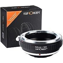K & F CONCEPT adaptador de lente Samsung NX NX1NX5NX10NX20NX30NX11NX100NX200NX210NX300NX300M NX1000NX1100NX2000NX3000nx3300Galaxy Mini