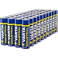 Varta Industrial Battery AA Mignon Alkaline Batteries LR6 - pack of 40, Made in Germany