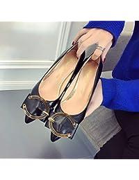 HhGold Zapatos de Corte Zapatos de tacón Alto Zapatos de tacón Alto para Mujeres con Zapatos