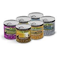 WILDBORN Probierpaket getreidefreies Hundefutter Nassfutter 6x800g verschiedene Dosen