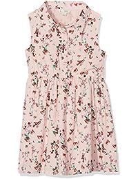 Yumi Ditsy Floral Shirt Dress (Soft Pink), Vestido para Niños