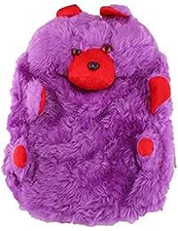 JBB Original Cute Teddy Soft Toy School Bag For Kids, Travelling Bag, Carry Bag, Picnic Bag, Teddy Bag (Smily...